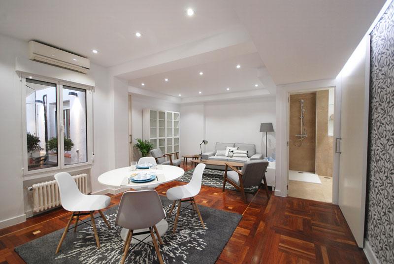 Reconversión oficina a vivienda Jorge Juan, Madrid