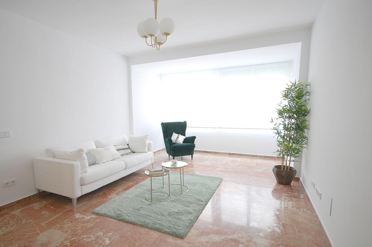 Reforma Integral de vivienda en Jorge Juan, Madrid - Salón